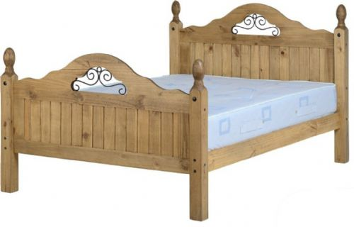 Corin Double Scroll Bed